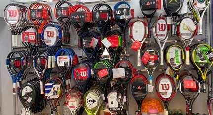 Chọn vợt tennis cho người mới chơi